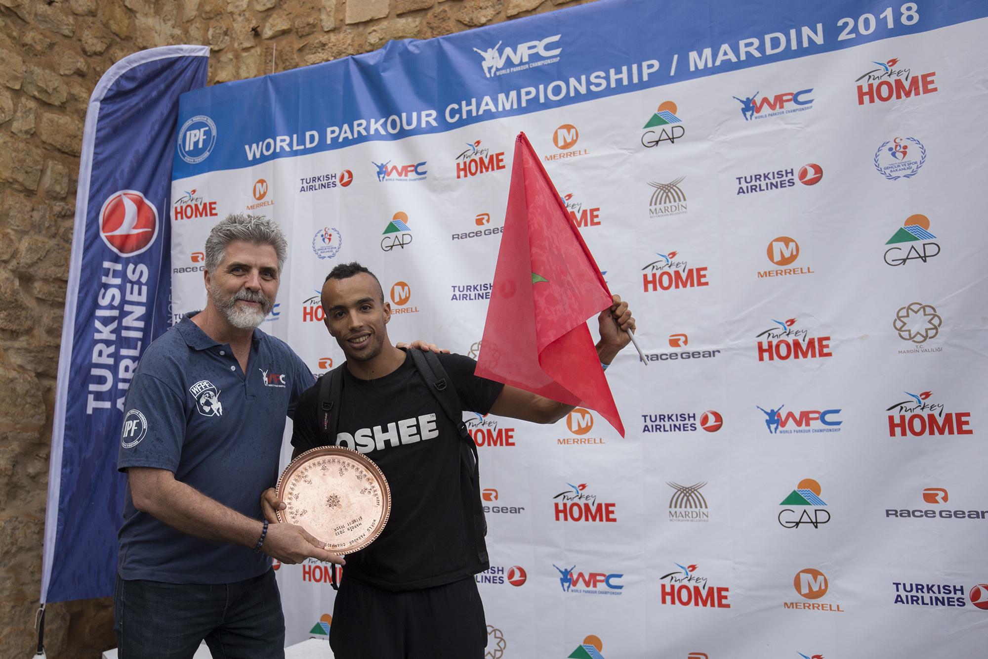 World Parkour Championship Mardin 2018